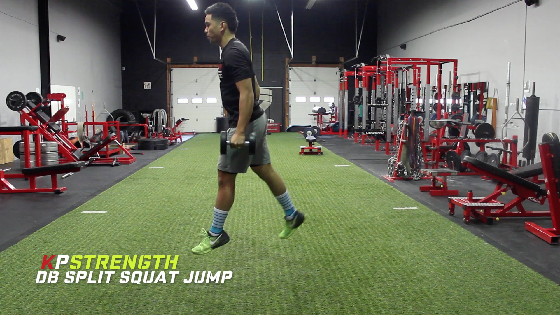 My Top 6 Dumbbell Exercises to Improve Vertical Jump! - KP